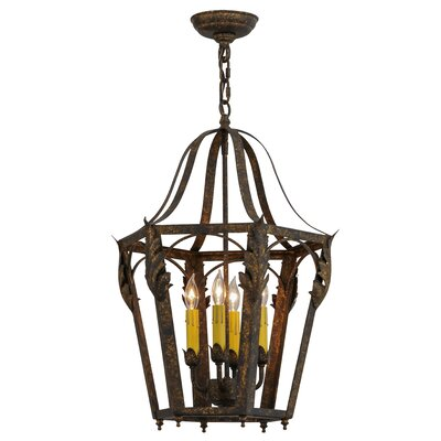 Acacia 4-Light Foyer Pendant