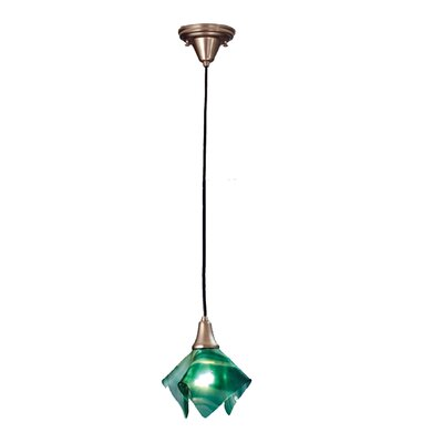 Mente Swirl Handkerchief 1-Light Mini Pendant