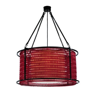 Maille 4-Light Drum Pendant