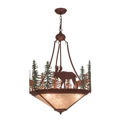 Wandering Moose 3-Light Inverted Pendant