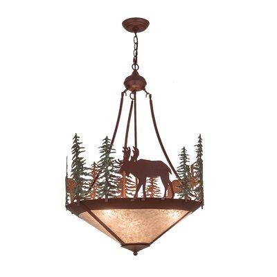 Wandering Moose 3-Light Inverted Pendant