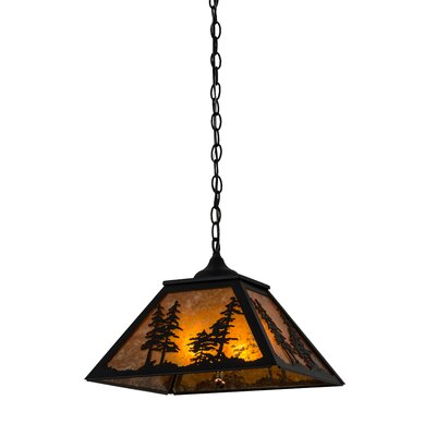 Tall Pines 2-Light Pendant