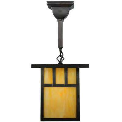 Hyde Park Double Bar Mission 1-Light Mini Pendant