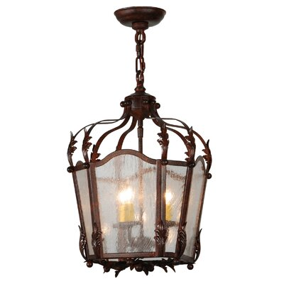 Citadel 3-Light Foyer Pendant