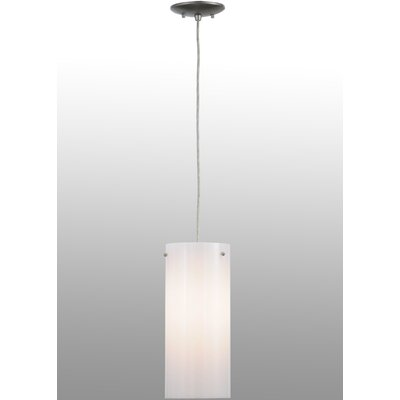 Cilindro Acrylic 1-Light Mini Pendant