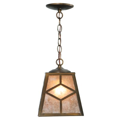 Diamond Mission 1-Light Mini Pendant