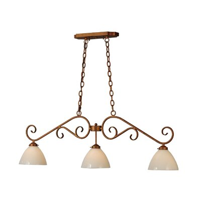 Mona 3-Light Kitchen Island Pendant