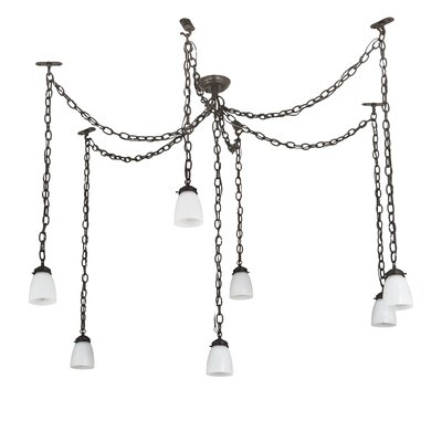 Castilian Adjustable 7-Light Cascade Pendant