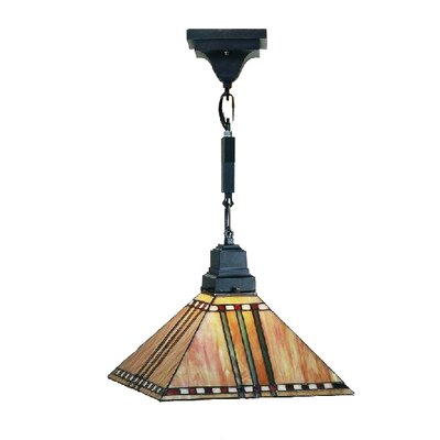 Mission 1-Light Corn Pendant Size: 24