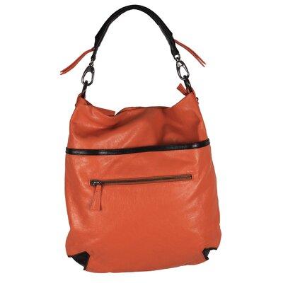 Latico Leathers ColorBlock Rosie Hobo Bag - Color: Salmon/Espresso at Sears.com