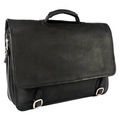 Latico Leathers Heritage Messenger Bag - Color: Black