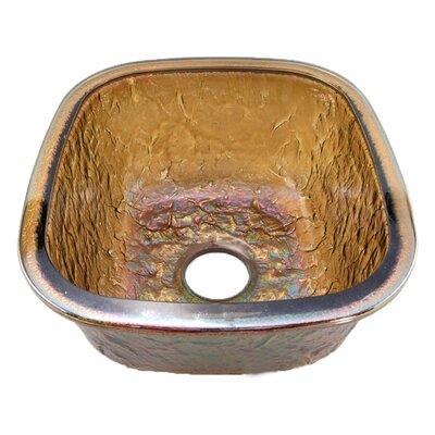 16.5 x 18.13 Undermount Kitchen Sink Finish: Green