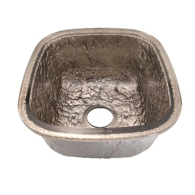 16.5 x 18.13 Undermount Kitchen Sink Finish: Platinum
