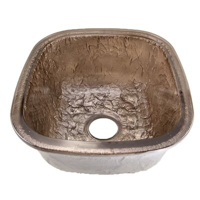 16.5 x 18.13 Undermount Kitchen Sink Finish: Pewter
