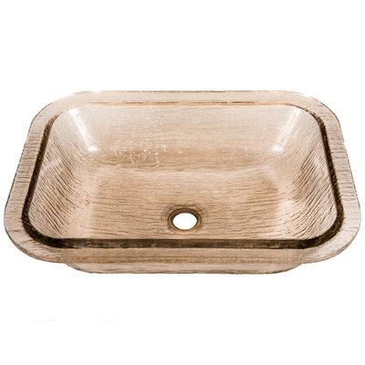 Oasis Rectangular Undermount Bathroom Sink Sink Finish: Fawn