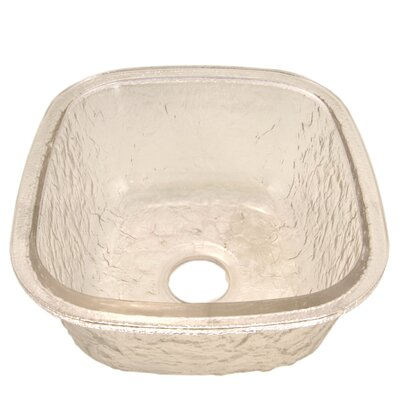 16.5 x 18.13 Undermount Kitchen Sink Finish: Crystal