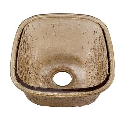 16.5 x 18.13 Undermount Kitchen Sink Finish: Fawn