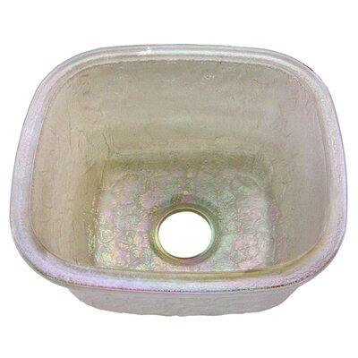 16.5 x 18.13 Undermount Kitchen Sink Finish: Pearl