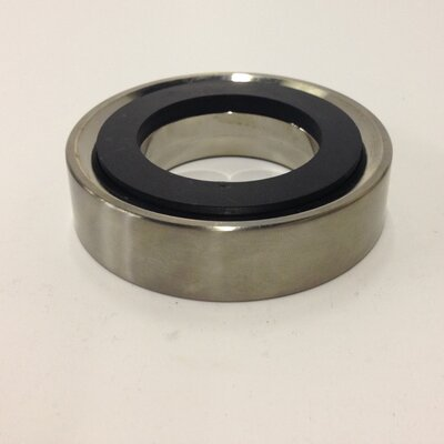 Vessel Mounting Ring Finish: Brushed Nickel