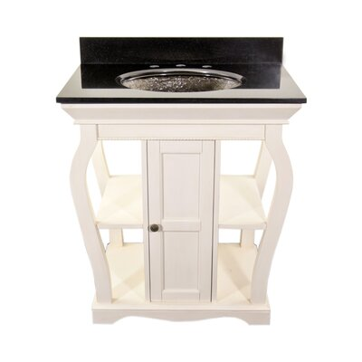 Vineta Bathroom Vanity Set Vanity Finish: Antique White