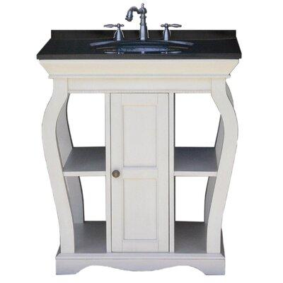 Vineta Bathroom Vanity Set Vanity Finish: Antique White