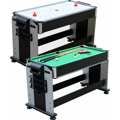 Playcraft 2-in-1 Sport Junior Air Hockey and Pool Table