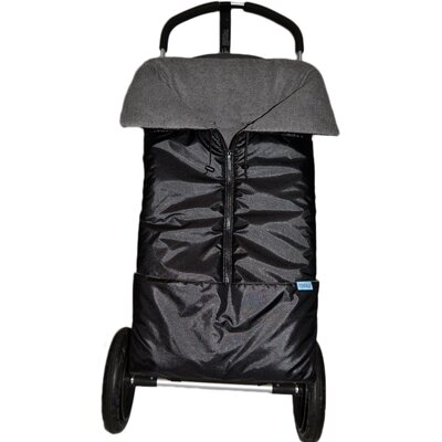 Tivoli Couture Miracle Wrap Bunting System Footmuff - Color: Metallic Black at Sears.com