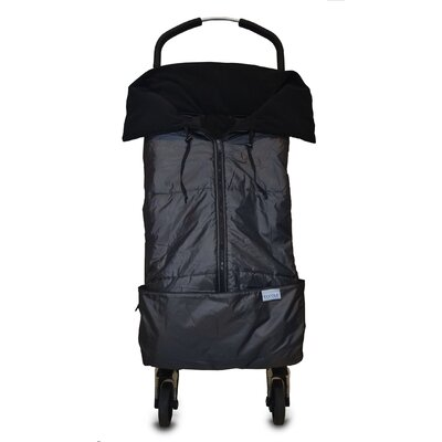 Tivoli Couture Mommy's Hug Baby Carrier Cover and Wearable Blanket - Color: Charcoal Grey / Black at Sears.com