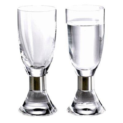 Elegance Snaps Glass (Set of 2) EBG-52205