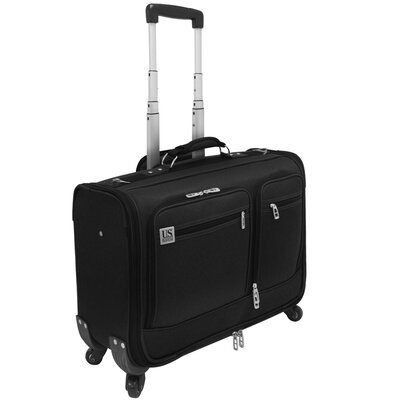 "U.S. Traveler 22"" Carry-On Spinner Garment Bag - Color: Black at Sears.com"