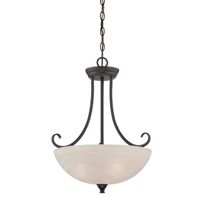 Eichelberger 3-Light Inverted Pendant Finish: Oil Rubbed Bronze