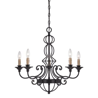 Tangier 5-Light Candle-Style Chandelier