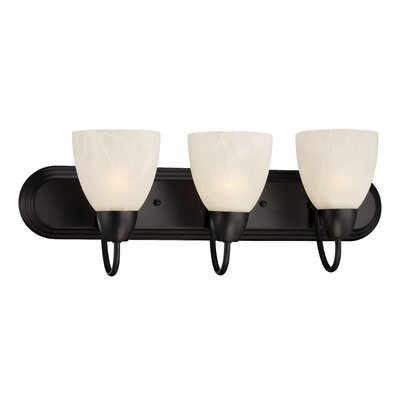 Torino 3-Light Vanity Light Finish: Oil Rubbed Bronze