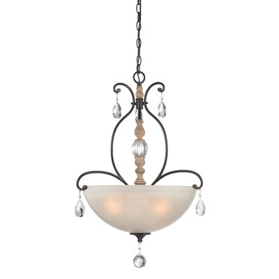 Bella Maison 3-Light Inverted Pendant