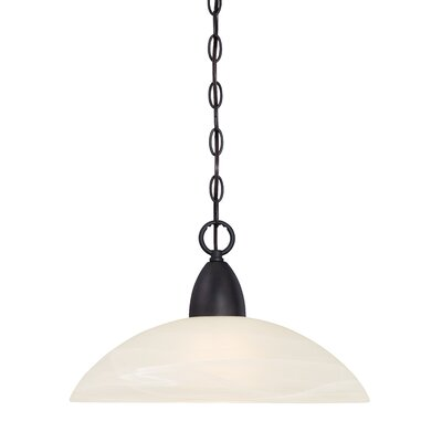 Torino 1-Light Mini Pendant Finish: Oil Rubbed Bronze