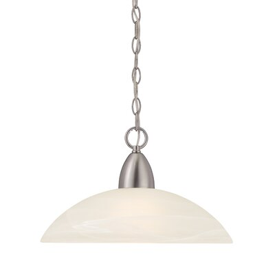 Torino 1-Light Mini Pendant Finish: Brushed Nickel