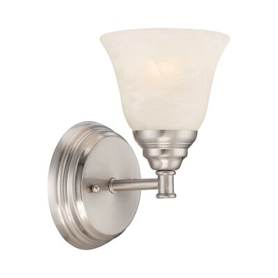 Kendall 1-Light Wall Sconce Finish: Satin Platinum