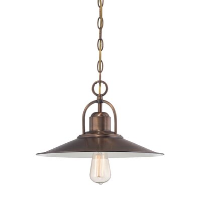 Newbury Station 1-Light Mini Pendant