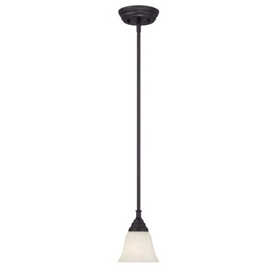 Kendall 1-Light Mini Pendant Finish: Oil Rubbed Bronze