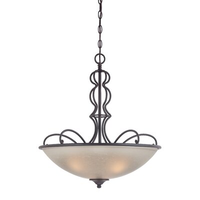 Tangier 3-Light Inverted Pendant