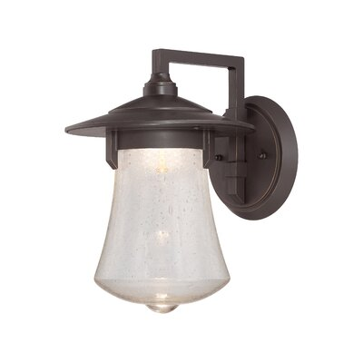 Paxton 1-Light Outdoor Barn Light Size: 13.75 H x 10 W x 11.5 D