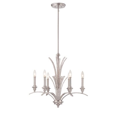 Grand Plazza 6-Light Candle-Style Chandelier