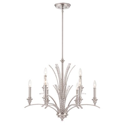 Grand Plazza 9-Light Candle-Style Chandelier