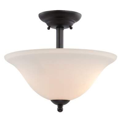 Addison 2-Light Semi-Flush Mount