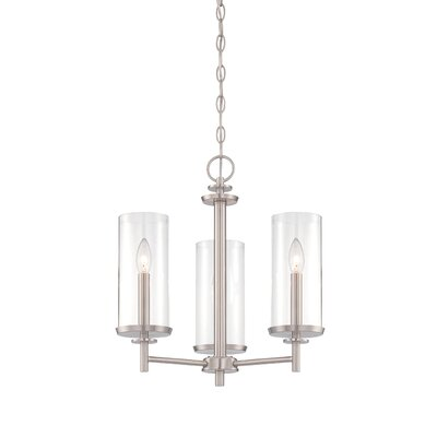 Harlowe 3-Light Candle-Style Chandelier