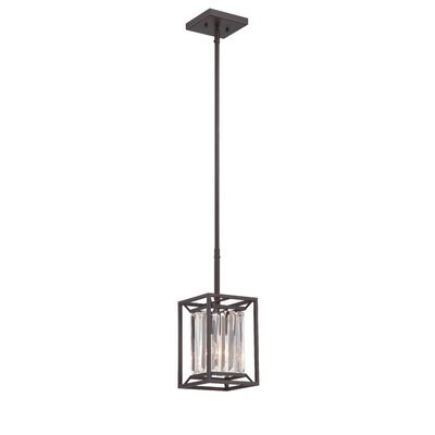 Linares 1-Light Mini Pendant Finish: Vintage Brass