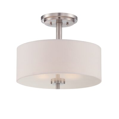 Harlowe 3-Light Semi Flush Mount