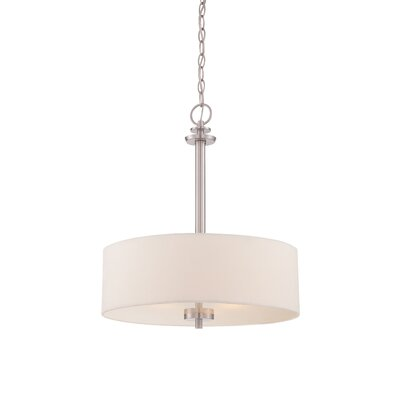 Harlowe 3-Light Drum Pendant