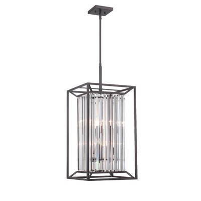 Apus 4-Light Steel Foyer Pendant Finish: Vintage Brass