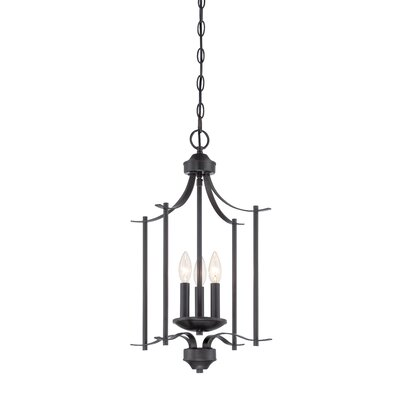 Cassina 3-Light Foyer Pendant Finish: Biscayne Bronze
